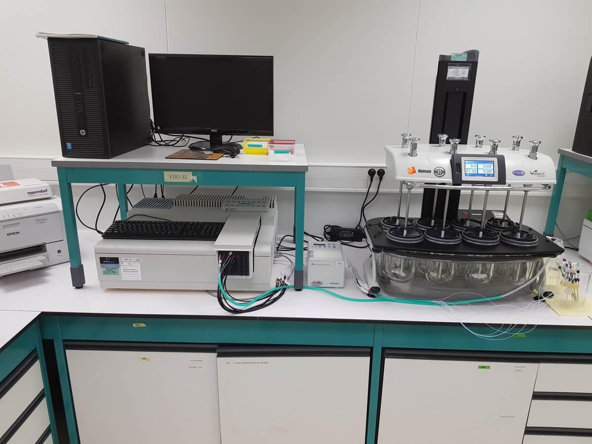 CAP-LAB - Installation + Contrôle - Spectrophotomètre Perking Elmer