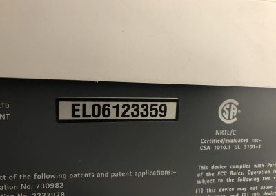 CAP LAB ANALYTIQUES P20050666 7